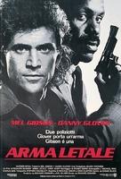 Lethal Weapon - Italian Movie Poster (xs thumbnail)