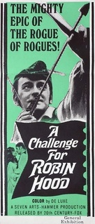 A Challenge for Robin Hood - Australian Movie Poster (xs thumbnail)
