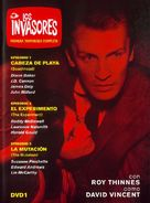 """""""The Invaders"""" - Spanish DVD movie cover (xs thumbnail)"""