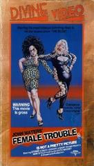 Female Trouble - VHS cover (xs thumbnail)