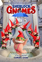 Sherlock Gnomes - Belgian Movie Poster (xs thumbnail)