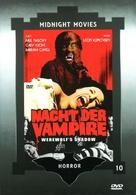 La noche de Walpurgis - German DVD movie cover (xs thumbnail)