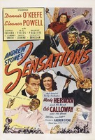Sensations of 1945 - Re-release poster (xs thumbnail)