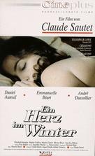Un coeur en hiver - German Movie Cover (xs thumbnail)