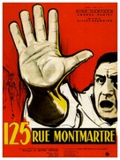 125 rue Montmartre - French Movie Poster (xs thumbnail)