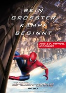 The Amazing Spider-Man 2 - German Movie Poster (xs thumbnail)