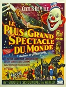 The Greatest Show on Earth - Belgian Movie Poster (xs thumbnail)