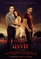 The Twilight Saga: Breaking Dawn - Part 1 - Slovak Movie Poster (xs thumbnail)