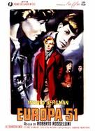 Europa '51 - Italian Movie Poster (xs thumbnail)