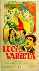Luci del varietà - Italian Movie Poster (xs thumbnail)
