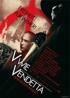 V For Vendetta - German Movie Poster (xs thumbnail)