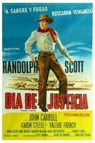 Decision at Sundown - Argentinian Movie Poster (xs thumbnail)