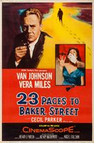 23 Paces to Baker Street - Movie Poster (xs thumbnail)