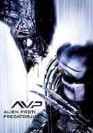 AVP: Alien Vs. Predator - Slovenian Movie Poster (xs thumbnail)