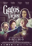 Old Cats - Chilean Movie Poster (xs thumbnail)