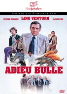 Adieu, poulet - German DVD cover (xs thumbnail)