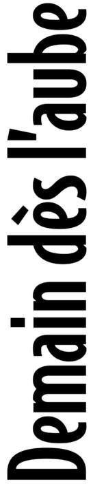 Demain dès l'aube - French Logo (xs thumbnail)