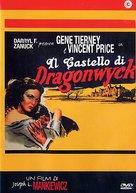 Dragonwyck - Italian DVD cover (xs thumbnail)