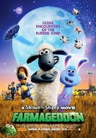 A Shaun the Sheep Movie: Farmageddon - Australian Movie Poster (xs thumbnail)