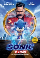 Sonic the Hedgehog - Portuguese Movie Poster (xs thumbnail)