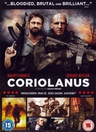 Coriolanus - British DVD movie cover (xs thumbnail)