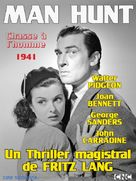 Man Hunt - French Movie Poster (xs thumbnail)