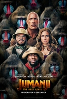 Jumanji: The Next Level - Danish Movie Poster (xs thumbnail)