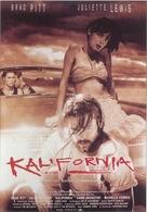 Kalifornia - German poster (xs thumbnail)
