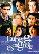 L'auberge espagnole - French Movie Poster (xs thumbnail)