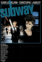Subway - German Movie Poster (xs thumbnail)