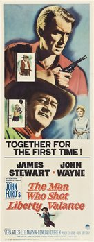 The Man Who Shot Liberty Valance - Movie Poster (xs thumbnail)