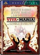 Viva María! - DVD cover (xs thumbnail)