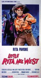 Little Rita nel West - Italian Movie Poster (xs thumbnail)