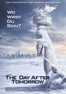 The Day After Tomorrow - German Movie Poster (xs thumbnail)