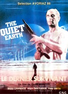 The Quiet Earth - French Movie Poster (xs thumbnail)