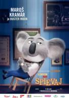 Sing - Slovak Movie Poster (xs thumbnail)