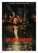 Highlander - Brazilian Movie Poster (xs thumbnail)