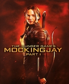 The Hunger Games: Mockingjay - Part 1 - Blu-Ray movie cover (xs thumbnail)