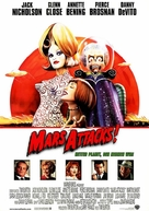 Mars Attacks! - German Movie Poster (xs thumbnail)