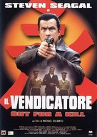 Out For A Kill - Italian Movie Poster (xs thumbnail)