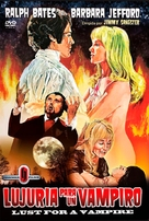 Lust for a Vampire - Spanish DVD movie cover (xs thumbnail)