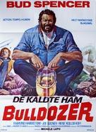 Lo Chiamavano Bulldozer - Danish Movie Poster (xs thumbnail)