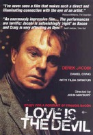 Love Is the Devil: Study for a Portrait of Francis Bacon - DVD movie cover (xs thumbnail)