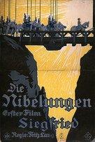 Die Nibelungen: Siegfried - German Movie Poster (xs thumbnail)
