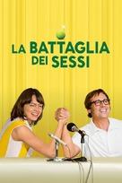 Battle of the Sexes - Italian Movie Poster (xs thumbnail)