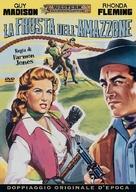 Bullwhip - Italian DVD movie cover (xs thumbnail)