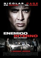 The Bad Lieutenant: Port of Call - New Orleans - Colombian Movie Poster (xs thumbnail)