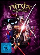 Ninja Scroll - German DVD cover (xs thumbnail)