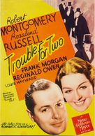 Trouble for Two - Movie Poster (xs thumbnail)