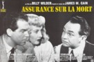 Double Indemnity - French Re-release poster (xs thumbnail)